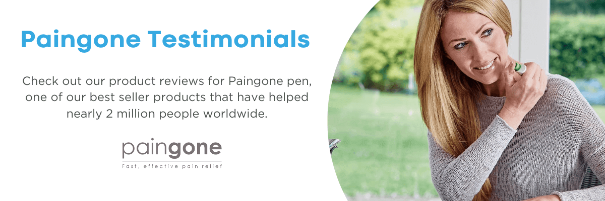 Paingone Reviews and Testimonials